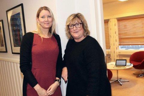 GIR RÅD: Daglig leder Lise Langø og familieverntereapeut Wenche Justad vil gi gode råd til familier om hvordan den nye hverdagen kan håndteres.