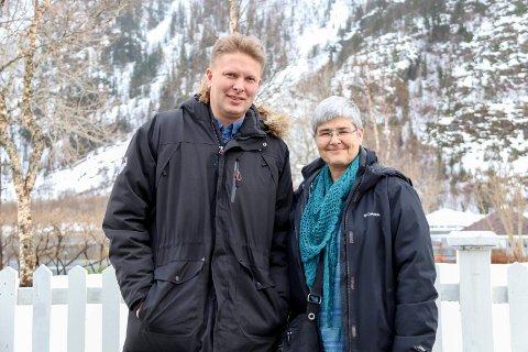 Dekning: Ordfører Harald Lie i Hattfjelldal og ordfører Ellen Schjølberg i Grane forteller de har flere plasser med dårlig bredbåndsdekning, og jobber for å få på plass mer dekning.