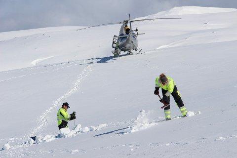 Det er slutt på å dra på tur for å sjekke ut hvor mye snø det er på Helgeland. Nå har matematiske modeller overtatt.