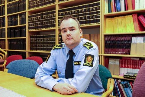Politiadvokat Jonas Nerdal i Nordland politidistrikt.