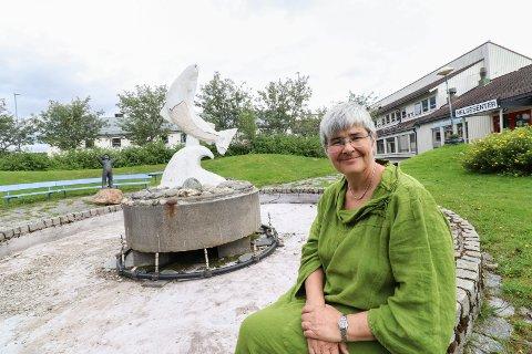 BER OM FINANSIERING: Ordfører Ellen Schjølberg i Grane kommune har sendt et brev til samferdselsminister Knut Arild Hareide. Her anmoder hun om finansiering av totalt tre strekninger i E6 Helgeland sør- prosjektet.