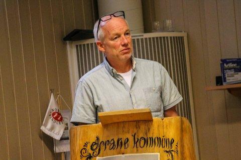 Varaordfører Tor Stabbforsmo (Sp) er den første i Grane med påvist koronasmitte.