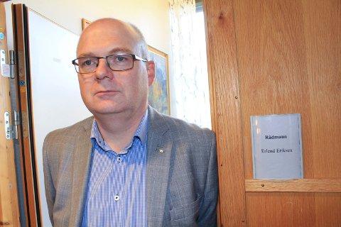 Erlend Eriksen, rådmann i Vefsn kommune er glad for at det ikke gikk liv tapt i jordraset.