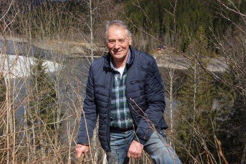 Bjørn Brodtkorb, daglig leder i Vefsnavassdragets Fiskeforvaltning.