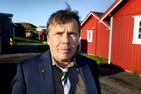 Ordfører i Træna, Jan Helge Andersen.