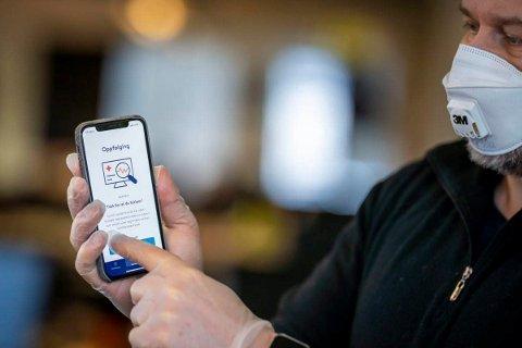 Smittestopp-appen deler data med Folkehelseinstituttet (FHI).