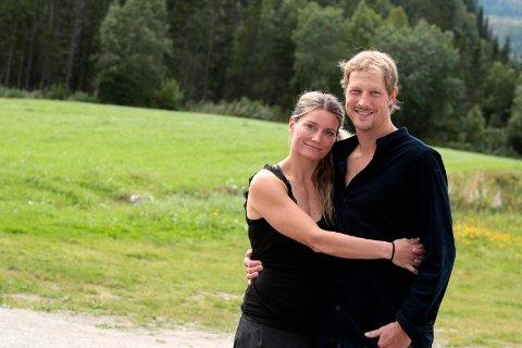 Søker: Mariann Sæther og Ron Fischer i River North søker støtte til etablering av villmarkscamp.