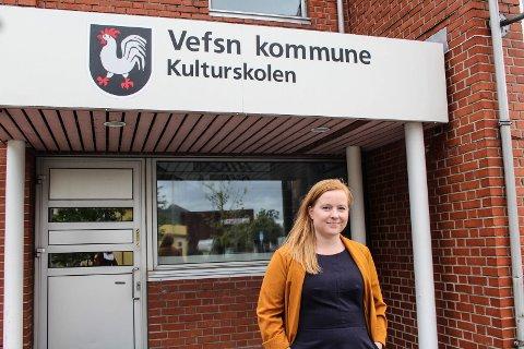 Åshild Pettersen er ny undervisningsinspektør ved Vefsn kulturskole. - Vi gleder oss til å ta imot elevene, sier hun.