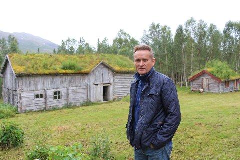Nils Johan Jacobsen, Fjellstad i Jakopjonsadalen