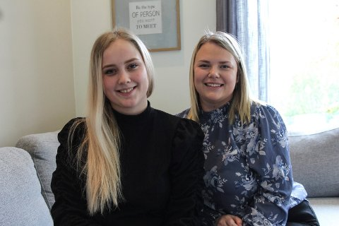 Kjent: Vilde Mari Hansen og Martine Victoria Røch starter Liten og Lykkelig AS - etter at de ble kjent for noen uker siden.