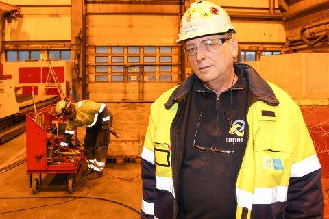 SYND: Synd oppsummerer Tom Eilertsen i Bilfinger etter at  selskapet tapte kampen om ny vedlikeholdskontrakt ved Alcoa Mosjøen.