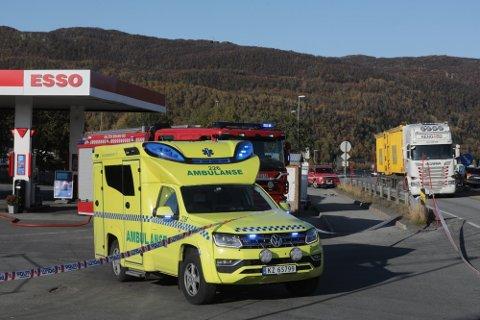 I oktober for to år siden skjedde det en eksplosjon under bakken på Esso-stasjonen på Tverlandet.