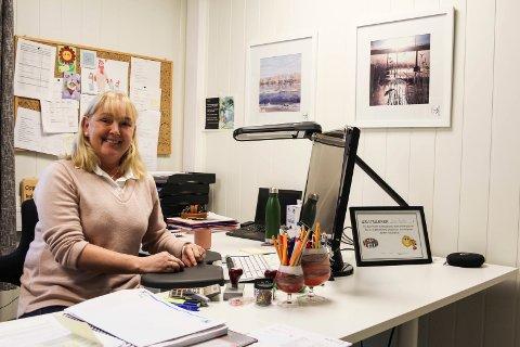 SAMARBEID: Anne Kristin Solheim, kommunalsjef i Grane, har tro på å styrke tjenesten ved å gå i samarbeid med Vefsn.