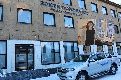 Siv Anita Bjørnsen forteller at det aldri har vært behandlet så mange saker på Helgeland som i fjor.