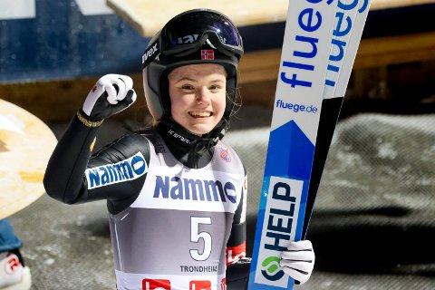 FORNØYD: Eirin Maria Kvandal kom som et skudd inn i norgestoppen og verdenstoppen siste sesong. Hun er fornøyd med at det nå blir ett lag.
