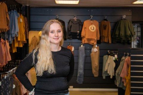 ALENE: Småbarnsmor Vilde Mari Hansen står nå alene som eier for firmaet Liten og Lykkelig AS.