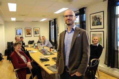SUKSESS PÅ BØRS: Jan Børge Sagmo er gründer og daglig leder i Bergen Carbon Solutions.