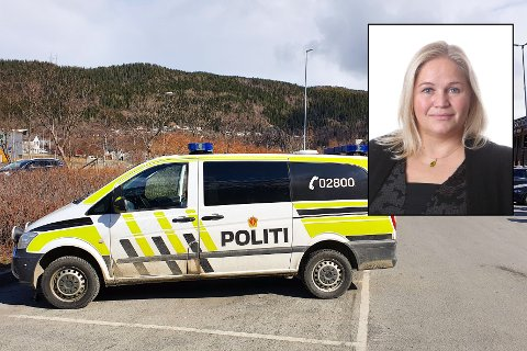 Kari Anne Bøkestad Andreassen (Sp) mener politiet på Helgeland har blitt svekket etter politireformen.