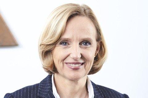 TAUS OM BRUDD: Angela Seidler er visepresident for investorforhold, bedriftskommunikasjon og bærekraft i det tyske selskapet Aurubis AG i Hamburg i Tyskland. Hun vil ikke si hva det var som fikk begeret til å renne over, slik at selskapet brøt med Nussir i går, torsdag.