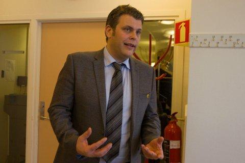 Statssekretær Jøran Kallmyr (Frp) åpnet tidligere i november det nye Ankomstsenter Finnmark på Høybuktmoen utenfor Kirkenes.