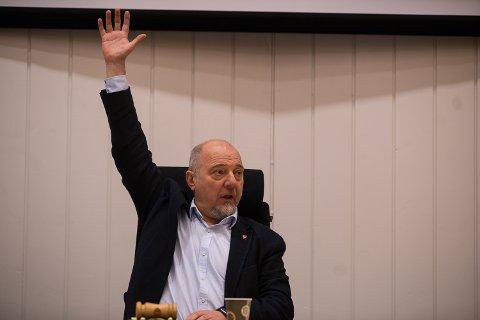 Sør-Varanger-ordfører Rune Rafaelsen (Ap), her på et kommunestyremøte i desember.