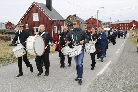 POSITIV SPIRAL: Gamvik kommune, med 1169 innbyggere, har klart å få høy netto innflytting, sterk befolkningsvekst og sterk vekst i arbeidsplasser.