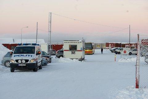 RETURSENTER: Her fra Vestleiren sendes asylsøkere ut av Norge.
