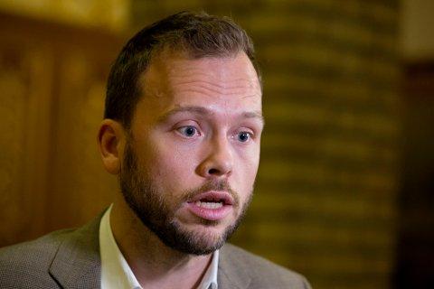SV-LEDER: Leder i Sosialistisk Venstreparti (SV), Audun Lysbakken. Foto: Håkon Mosvold Larsen / NTB scanpix