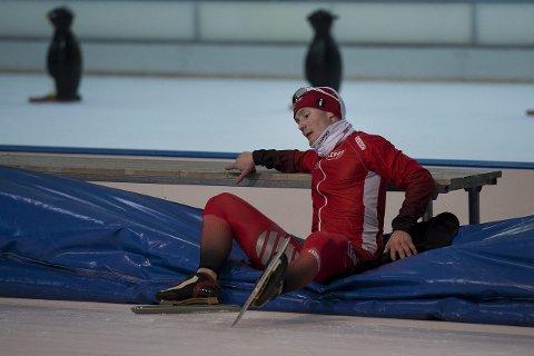 Sønnen til altaværingen Jarle Pedersen, Sverre Lunde Pedersen, er Norges håp i skøyte-EM. Foto: Carina Johansen / NTB scanpix