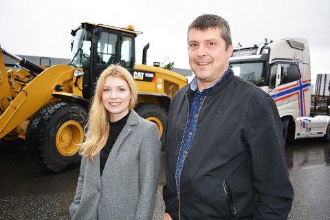 Marianne Haukland (H) og Bengt Rune Strifeldt (FrP) røper noen av prosjektene det bevilges penger til i statsbudsjettet, som legges frem 6. oktober.