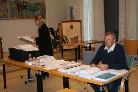Bruers advokat Eirin Halvorsen Lillehof og Bjørnar Bruer.