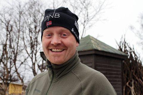 ENDELIG: Etter utallige timers frivillig innsats, kunne Knut Esbensen endelig konstatere at IL Polarstjernen kan være arrangør for store skiskytingsarrangementer.