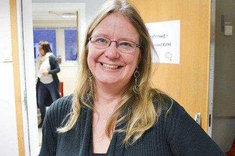 I «KVENHOVEDSTADEN»: Kvenforsker Pia Lane fra Universitetet i Oslo besøkte Vadsø lørdag. Foto: Kristina Bøland.
