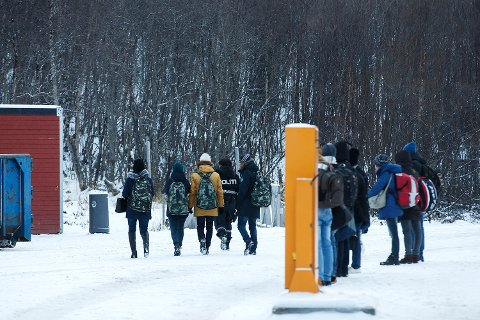 LIMBO: I løpet av noen hektiske uker i fjor, krysset 5.500 asylsøkere grensa til Norge over Storskog. 1.300 av de har siden da vært ureturnerbare, og ikke fått behandlet søknadene i Norge.