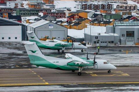 MINSKER: Lufthavnsjef Kjetil Kvamme og hans omkring 150 kollegaer på Hammerfest lufthavn sier nedgangen har gitt rom for andre prosjekter på lufthavnen. Til sammen har Avinor 28 ansatte ved flyplassen, mens de øvrige er ansatt i selskaper som Widerøe, Securitas, Bristow, Airlift m.fl.