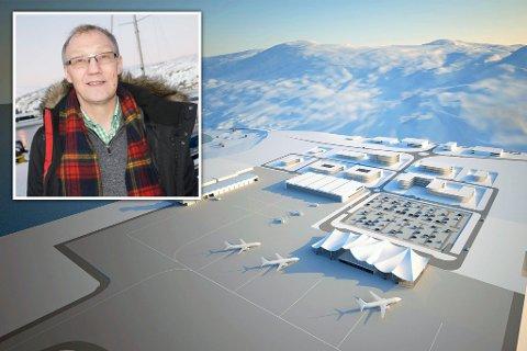 Bakken ønsker avklaring:  For Geir Ove Bakken (Ap) er det med bekymret blikk han leser Strifeldts kommentarer om ny flyplass i Hammerfest. Nå ber han regjeringen komme på banen i saken, og avklare status i saken.