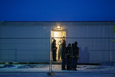 Illustrasjonsfoto. Asylsøkere i ankomstsenteret for flyktninger i Kirkenes.