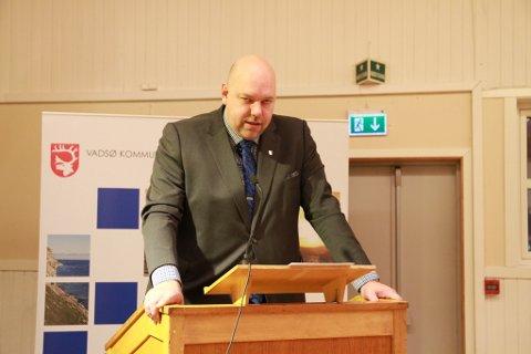 KUNNE GLEDE SEG: Ordfører Hans-Jacob Bønå og resten av partiet har håpet på en gladmelding fra Stortinget, og kunne torsdag kveld puste ut.