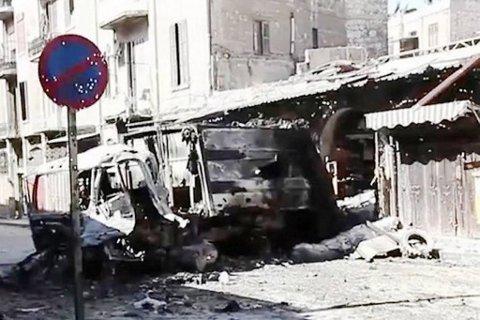 Illustrasjonsbilde fra tidligere krigsherjinger i Aleppo (2014).
