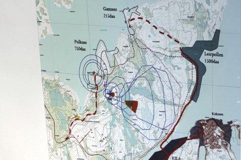 HER ER OMRÅDET: Planene for Tømmerneset er mange - og store.