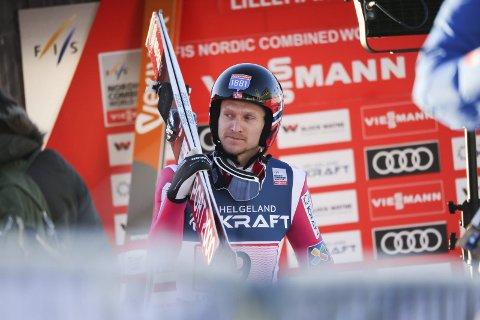 Håvard Klemetsen skal konkurrere i VM-byen i helgen. Foto: Geir Olsen / NTB scanpix