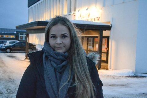 -UPROFFT: Camilla Storegraven mener Vadsø treningssenteret er uproffe når de svarer på spørsmål om et bedre tilbud for studenter.