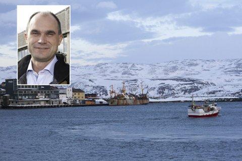 HELT AVGJØRENDE: Per Gunnar Hansen i Norway Seafoods mener det er helt avgjørende at havna i Båtsfjord nå blir dypere.