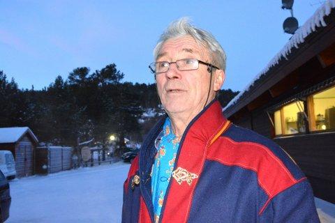 TRAVER PÅ TINGET: Mathis Nilsen Eira fra NSR.