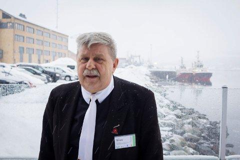 Staal Nilsen på Kirkeneskonferansen.