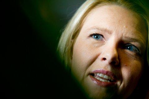Innvandrings- og integreringsminister Sylvi Listhaug (Frp).