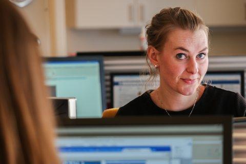 TIL JOURNALISTKONFERANSE: Vanja Skotnes skal fortelle om sakene med Finnmark fylkeskommune på stor journalistkonferanse.