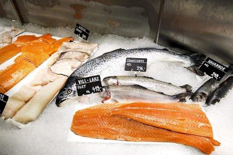 Norge eksporterte sjømat for 6,8 milliarder kroner i februar. Det er en økning på 1,5 milliard kroner eller 29 prosent sammenlignet med februar i fjor. Illustrasjonsfoto: Gorm Kallestad/NTB scanpix