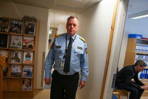 Morten Daae, påtaleleder i Finnmark politidistrikt, sier at politiet har stort fokus på å avdekke seksuelle overgrep mot barn på internett.