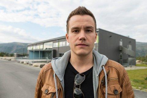VIL IKKE TILDELE TOMTER: Hans Magnus Thunestvedt stemte mot å tildele tomter til aktørene som vil bygge lagerseksjoner for salg og utleie.